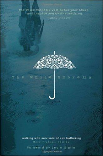 white umbrella